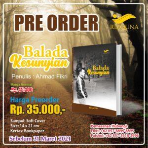 Buku Balada Kesunyian - Penerbit Rizquna