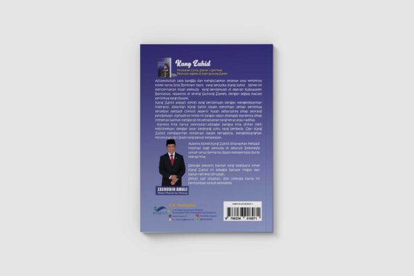 Kang Zahid Cover Belakang