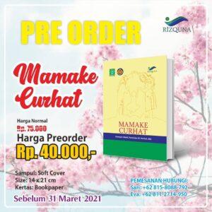 Buku Mamake Curhat - Penerbit Rizquna