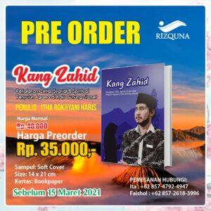 Pre Order Buku Kang Zahid - Penerbit Rizquna