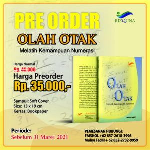 Pre Order Olah Otak